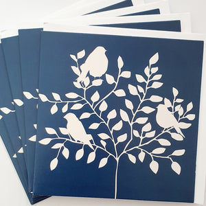 Alexander Gray Birds Greeting Cards - Pack of 5