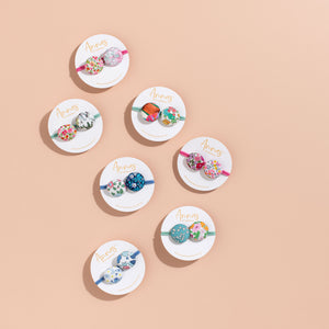 Anna's of Australia Liberty Print Button Bobble - Assorted Designs