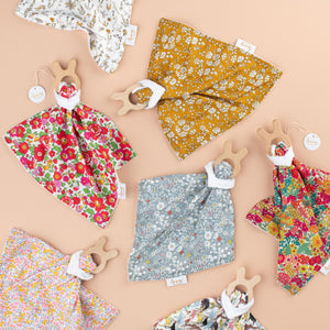 Anna's of Australia Liberty Print Comforter/Teether - Assorted Designs