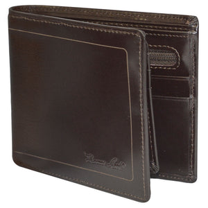 Thomas Cook Men's Leather Edged Wallet - 2 Colours
