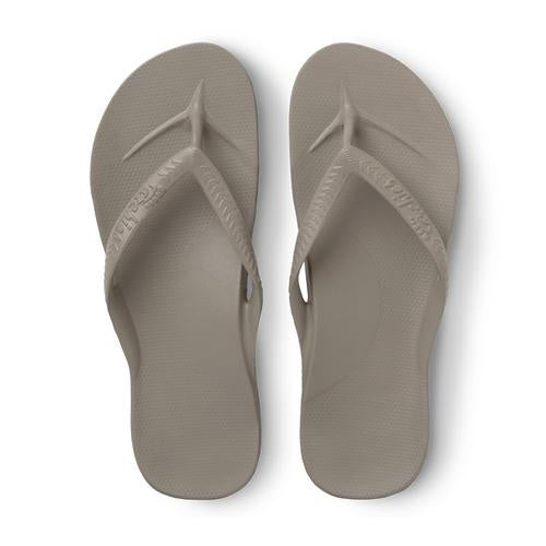 Archies Arch Support Thongs - Taupe