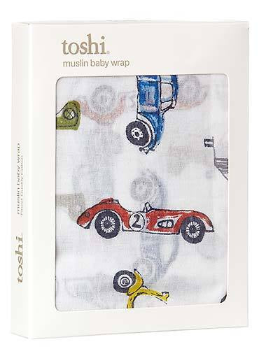 Toshi Muslin Wrap Printed Boys -  8 Designs REDUCED
