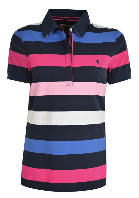 Thomas Cook Womens Trish Stripe S/S Polo - 8 & 12