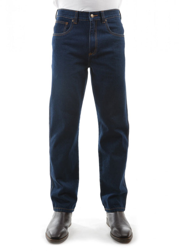 Hard Slog Mens Denim Non-Stretch Jeans