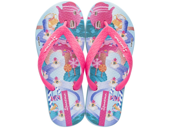 Ipanema Temas Kids Blue/Pink - Various Sizes