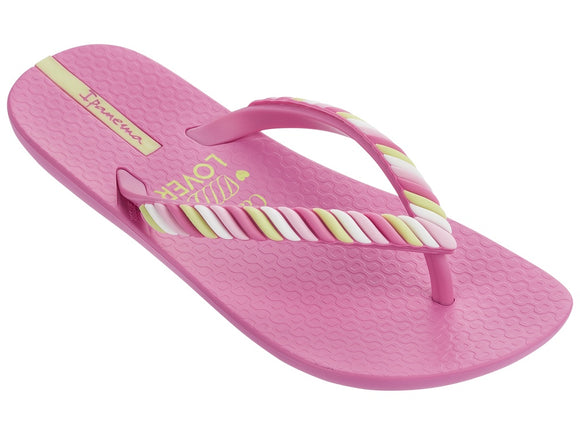 Ipanema Candy Kids Pink Thongs - Sizes US 9 to US1