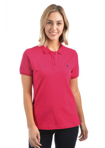 Thomas Cook Classic Stretch Polo - Bright Rose