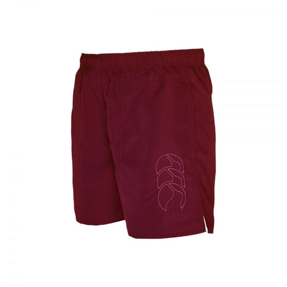 Canterbury Long Tactic Short Tonal Junior - Maroon