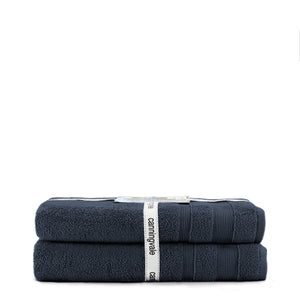 Canningvale Amalfitana Bath Sheet Twin Pack - Various Colours
