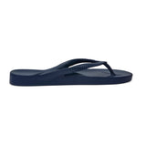 Archies Arch Support Thongs - Navy