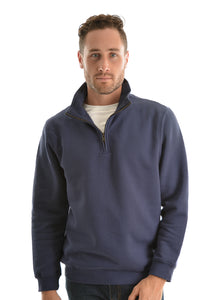 Hard Slog 1/4 Zip Fleece Top - Indigo Blue - Various Sizes