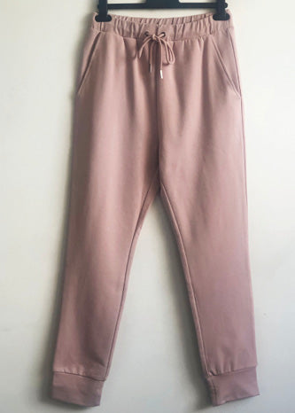 Tirelli Drawcord Lounge Pant Blush