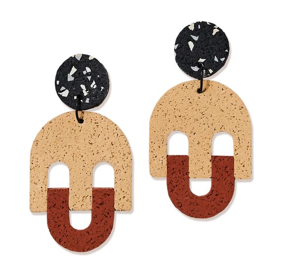 Champ Keep Smiling Earrings