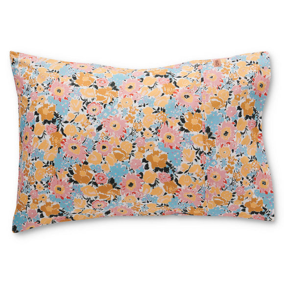 Kip & Co Autumn Pollen Cotton Pillowcases - 2pk