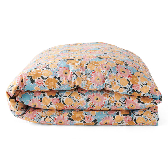 Kip & Co Autumn Pollen Cotton Quilt Cover - King Bed