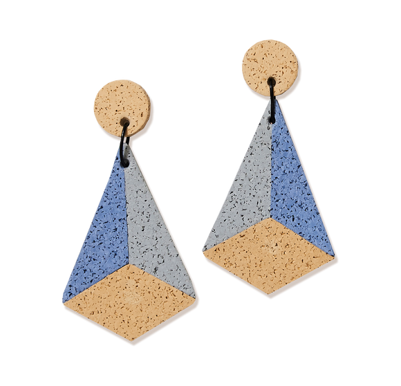 Champ Pyramid Earrings