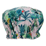 Annabel Trends Fabric Shower Cap - Jungle Spot