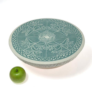 Spaza Extra Large Dish and Bowl Cover - Safari