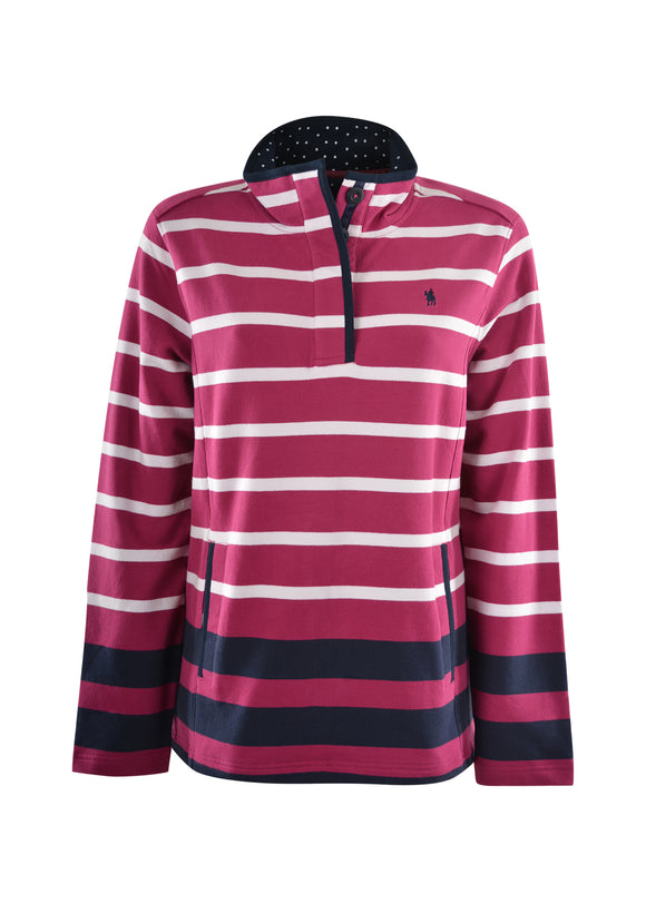 Thomas Cook Womens Epping Stripe Rugby - Sizes 8 & 14