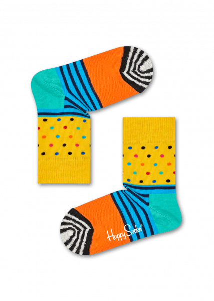 Happy Socks Stripes & Dots Sock - 12 - 24 months