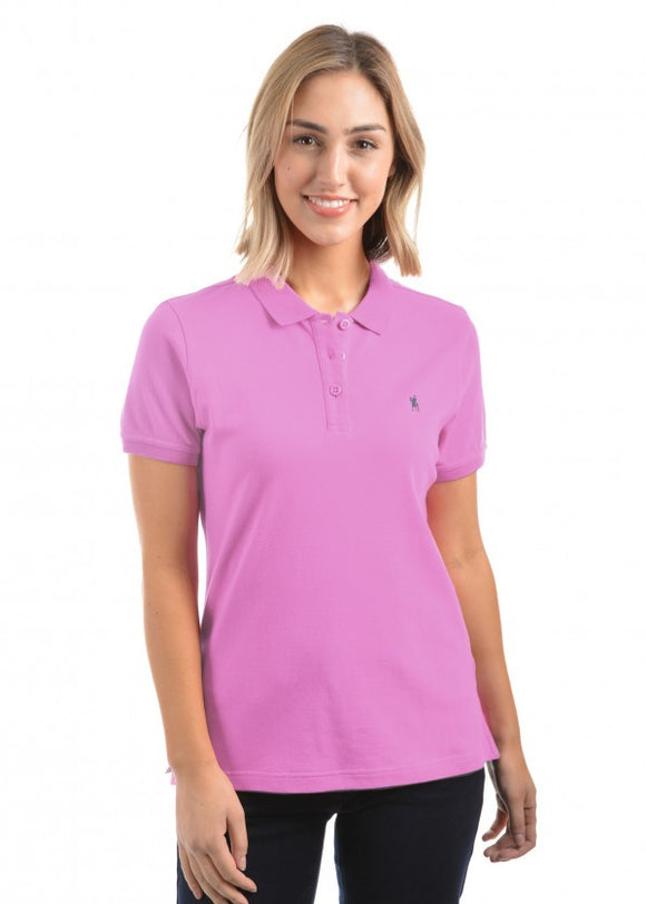Thomas Cook Classic Stretch Polo - Violet