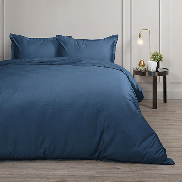 Canningvale Palazzo Royale 1000TC Quilt Cover Set - QB - 2 Colours