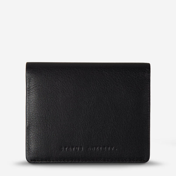 Status Anxiety Lennen Wallet Black