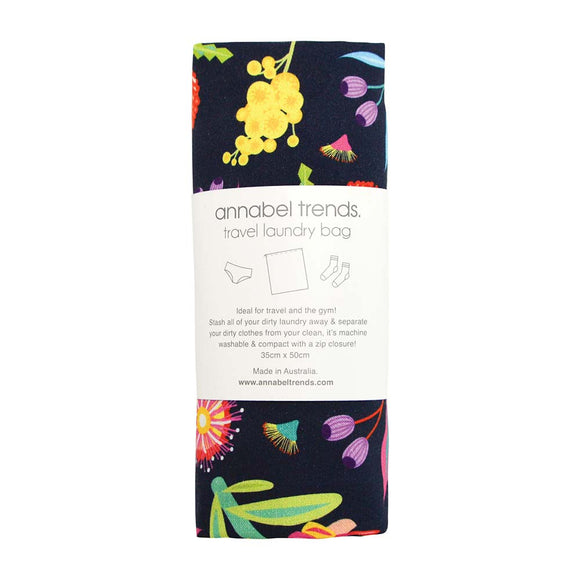 Annabel Trends Laundry Bag - Aussie Flora