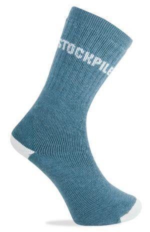 Stockpile Outback Socks - Men's 2-8 - Denim Blue