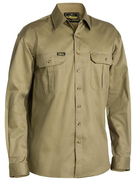 Bisley Original Cotton Drill Work Shirt L/S