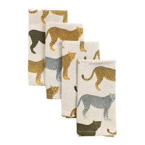 Raine & Humble Cheetahs Gone Wild Napkins
