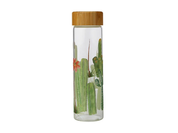 MW Royal Botanic Gardens Arid Garden Glass Water Bottle 550ML