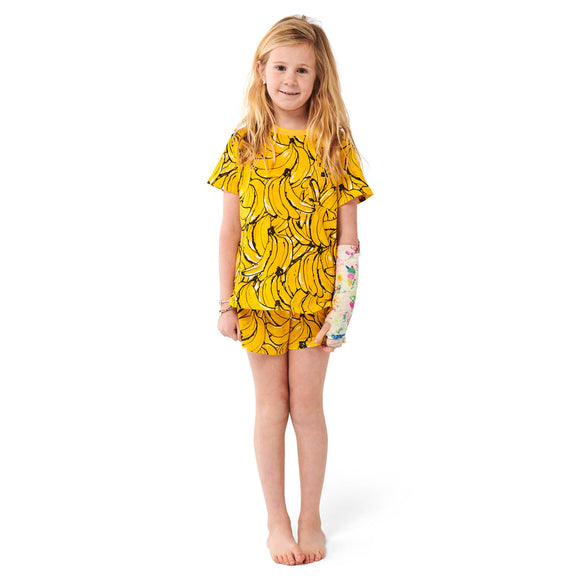 Kip & Co Bananas S/S Tee & Shorts Set