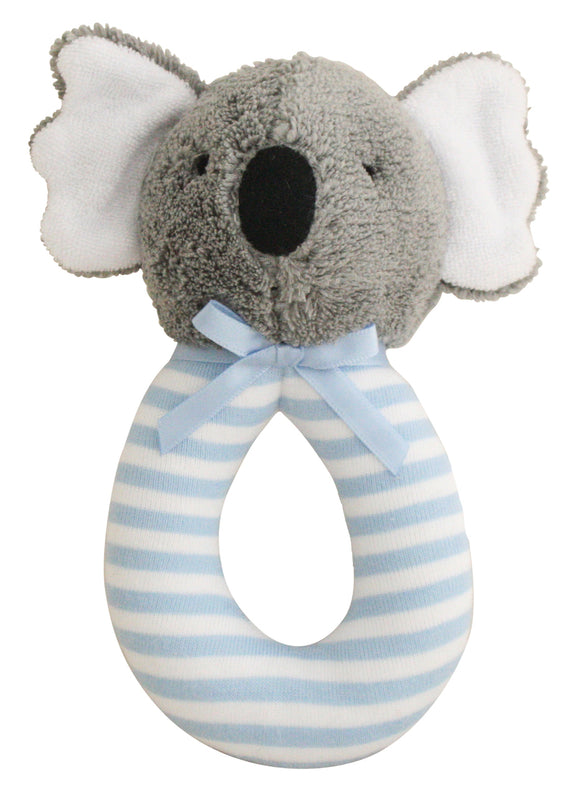 Alimrose Koala Grab Rattle - Blue