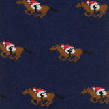 ORTC Navy Race Horse Socks