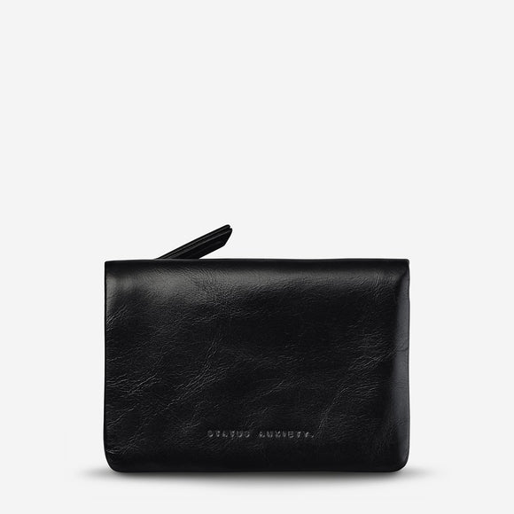 Status Anxiety Is Now Better Wallet - Black