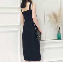 Raphael Front Slit Dress