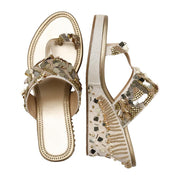 Noorie Gold Wedge