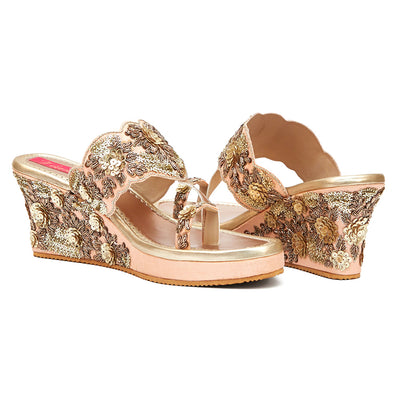 Blossom Wedge (MADE TO ORDER)