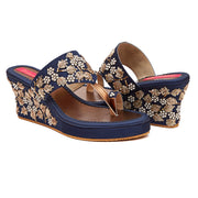 Bloom Iris Wedge (MADE TO ORDER)