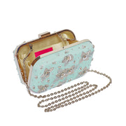 Candice Aqua Clutch (MADE TO ORDER)