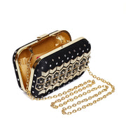 Noir Flake Clutch