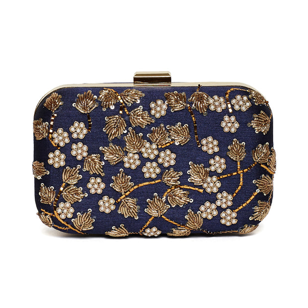 Bloom Iris Clutch (MADE TO ORDER)