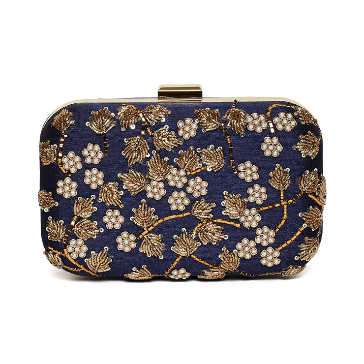 Bloom Iris Clutch