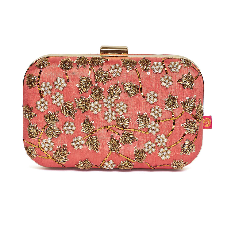 Bloom Aster Clutch