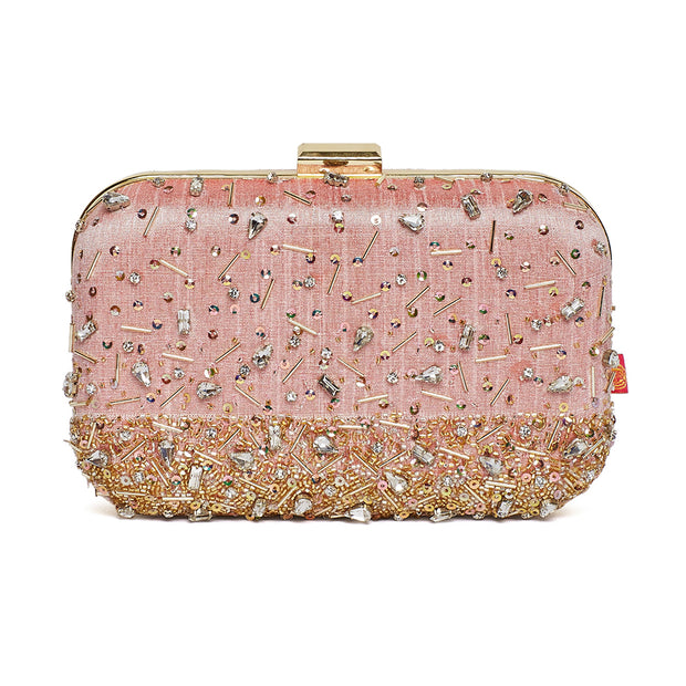 Tiara Blush Clutch