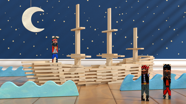Brain Blox Pirate Ship