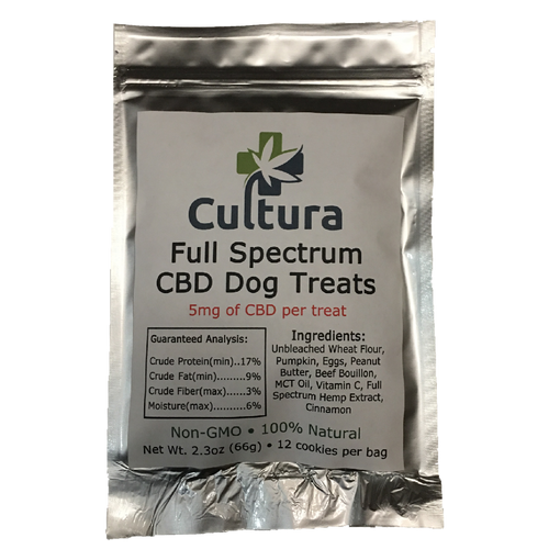 Full Spectrum Hemp Extract Dog Treats