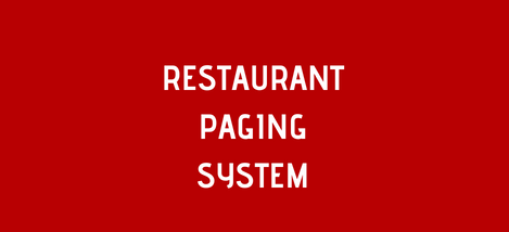 Pager Genius Customer And Employee Paging System