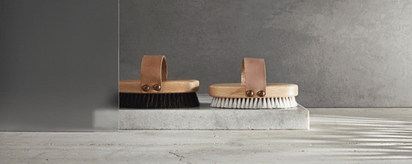 The difference between the body brushes